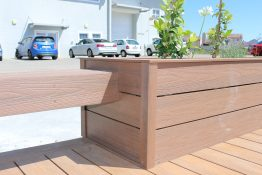 composite decking and benches